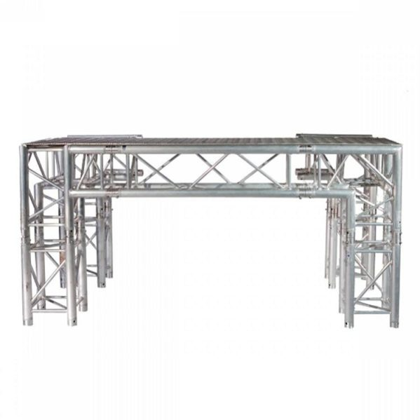 DJ Booth van Prolyte truss 2m breed + plaat