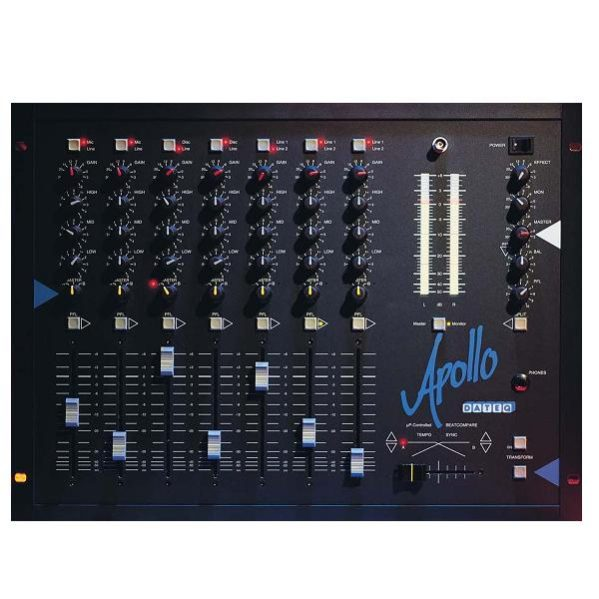 Dateq Apollo mengpaneel met crossfader 2 mic