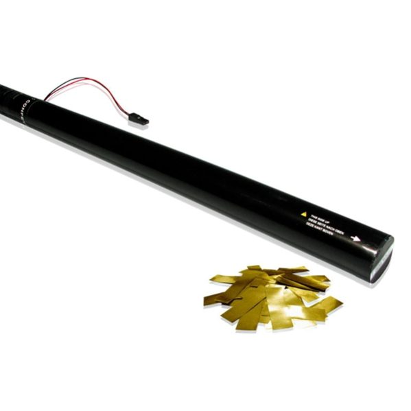 Electric Confetti Metallic Cannons 80cm-12m (Goud)