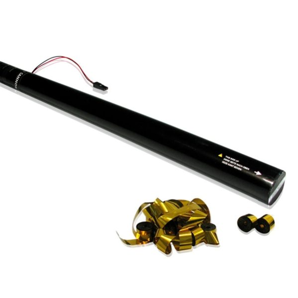 Electric Streamer Cannons 80cm-20m (Goud)