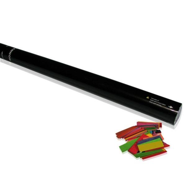 Handheld 80cm confetti kanon (multicolour)