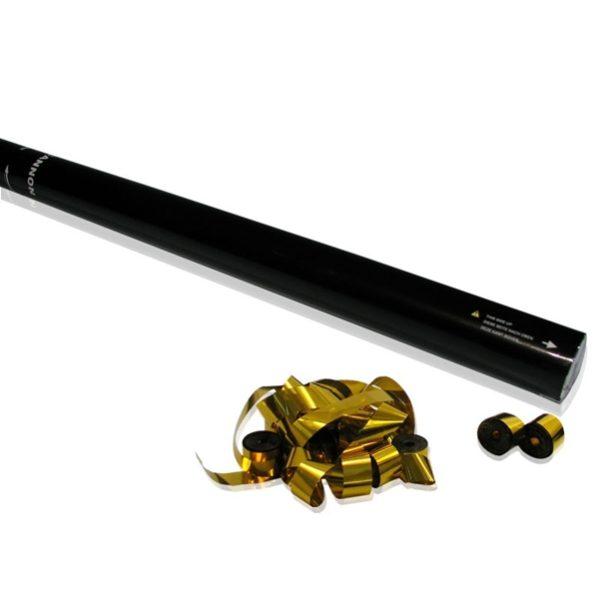 Handheld 80cm streamer kanon Metallic Goud