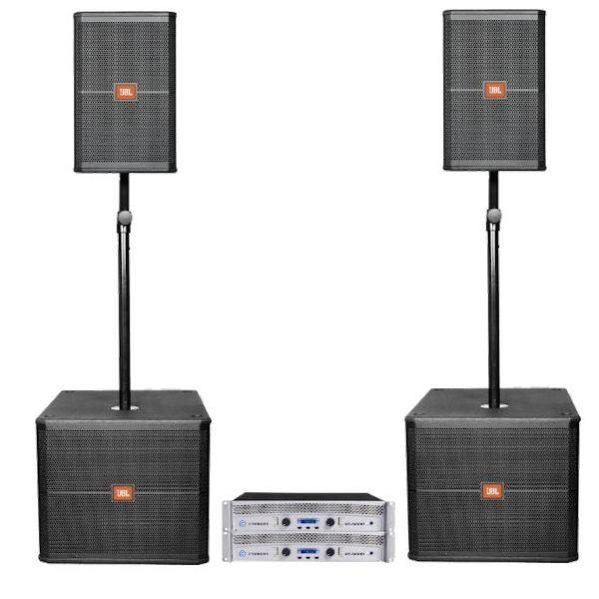 JBL SRX 712 (2 x 800watt speakerset) geluid huren