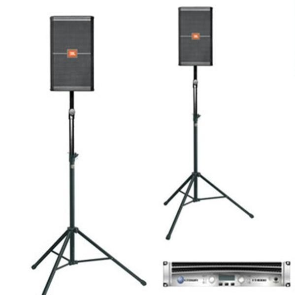 JBL SRX 712 Topspeakers set (spraakset)