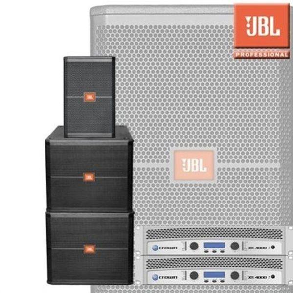 JBL SRX715 (2 x 1200watt speakerset) dubbel sub geluid huren