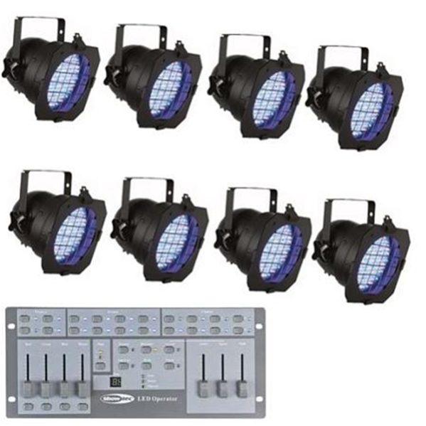 LED Par 56 SET
