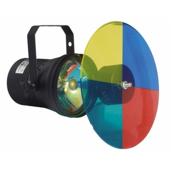 Pinspots met kleuren wisselaar 30w