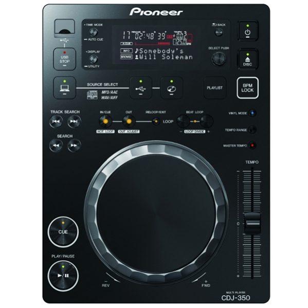 Pioneer CDJ 350 cd speler MP3 DJ Gear huren