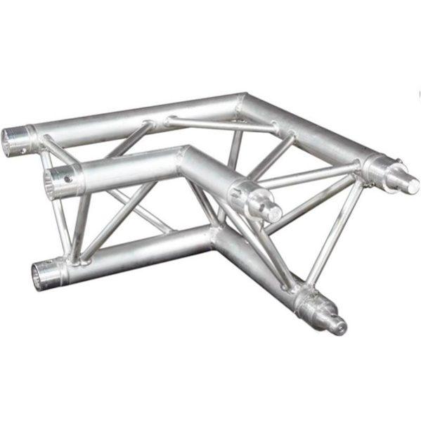 Prolyte truss X30D-C003 tweeweg hoekstuk 90 graden liggend