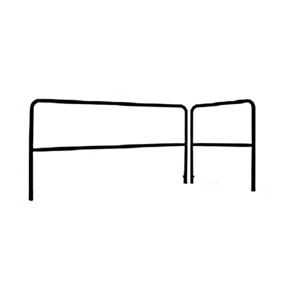Railing (podiumprak/leuning) 200x100