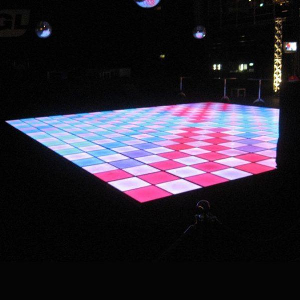 Ledpaneel Multileds vierkante meterprijs verlichte dansvloer