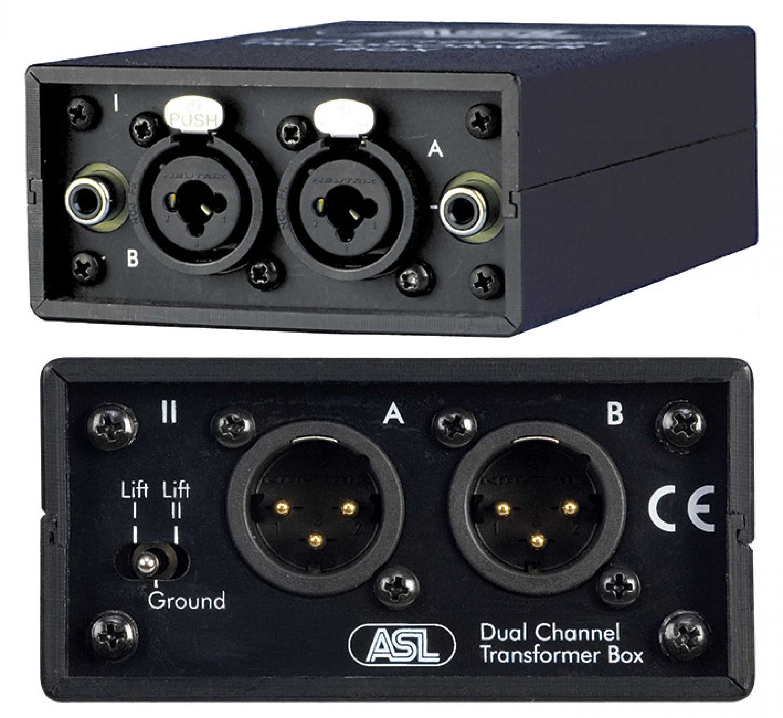 asl dual transformer box