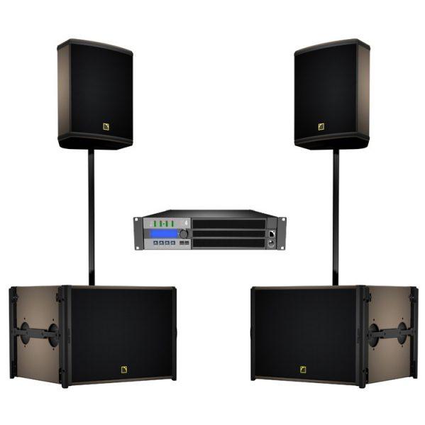 L-Acoustic 12XT en SB18 speaker SET geluid huren