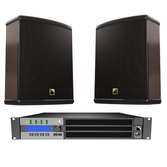 L-Acoustics 12XT passive Monitor/Front/Fill SET 2 geluid huren
