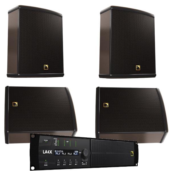 L-Acoustics 12XT passive Monitor/Front/Fill SET 4 geluid huren