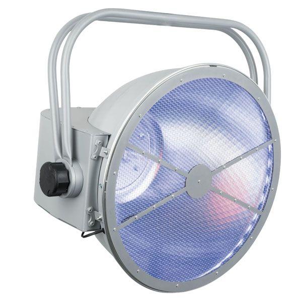Showtec vintage PAT 575 RGB parabolic 47cm aluminium reflector Tungsten light (incl DIM) + LED RGB