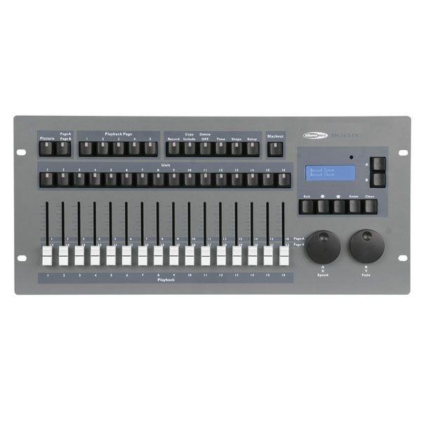 Showtec SM16FX Expression 5000 controller