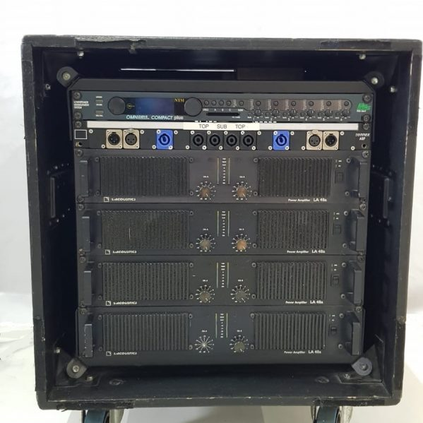 L-Acoustics LA48a Amplifier rack