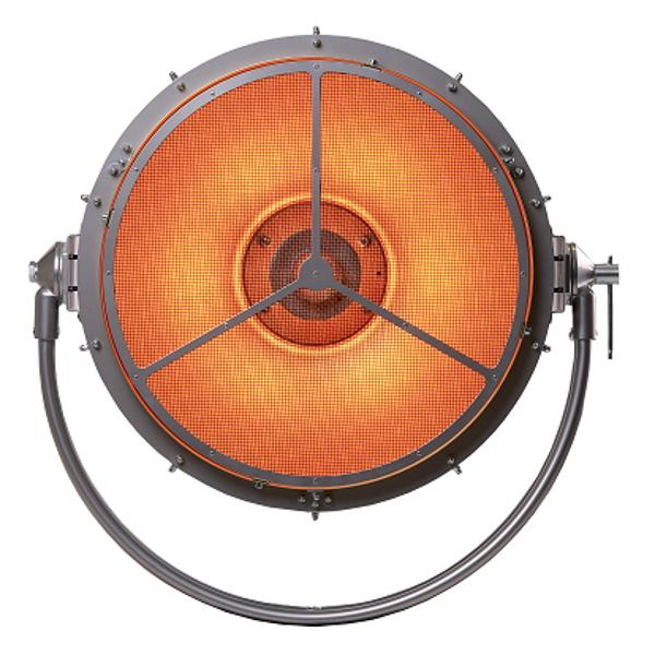 Robe PATT 750 parabolic 55cm aluminium reflector Tungsten light