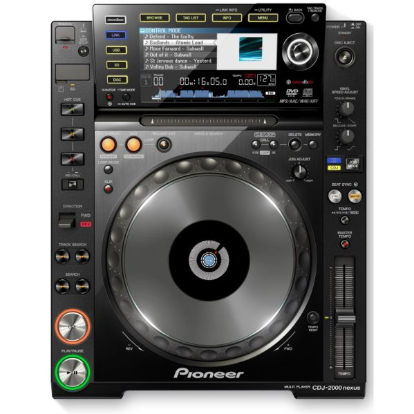 Pioneer CDJ 2000 Nexus cd speler Media player DJ gear huren