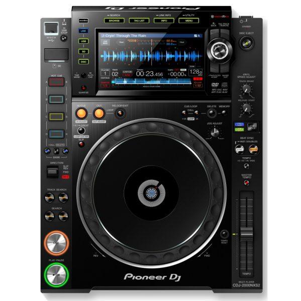 Pioneer CDJ 2000 Nexus II Media CD USB speler DJ Gear huren
