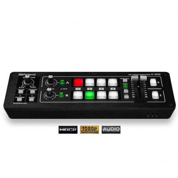 Roland V-1HD HDMI 4ch video audio effects mixer