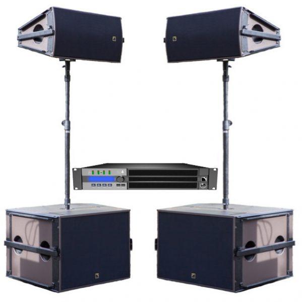 L-Acoustics arcs WIDE PRO geluid huren