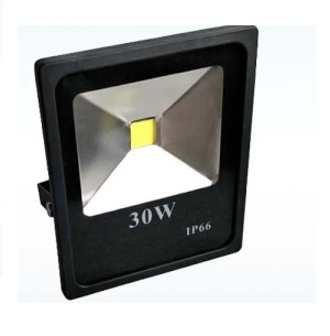 cob floodlight 30watt led warm wit outdoor bouwlamp