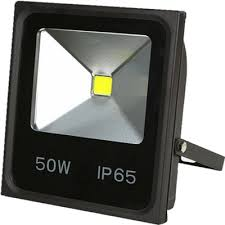 cob floodlight 50watt led warm wit outdoor bouwlamp