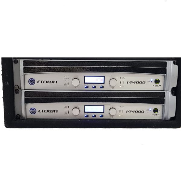 Crown I-tech4000 Amplifier rack
