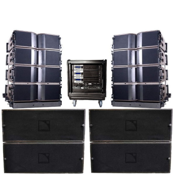 L-Acoustics KARA line array medium stack set geluid huren