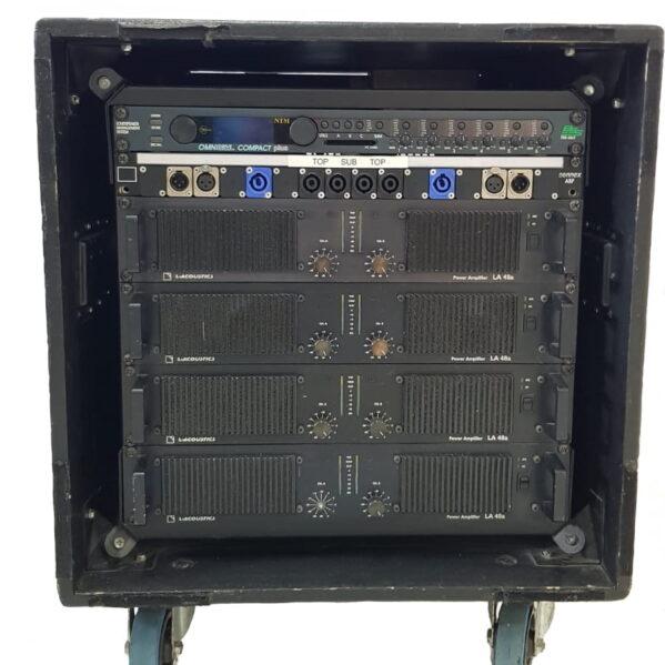 L-Acoustics LA48a Amplifier rack