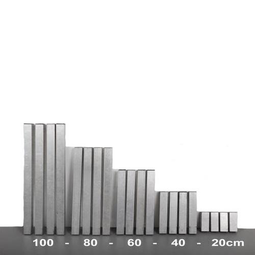 podium pootjes div hoogte kleu 4x4cm