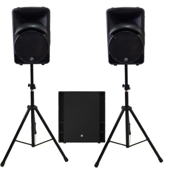 Mackie Thumb SRM active V3 SET geluid huren
