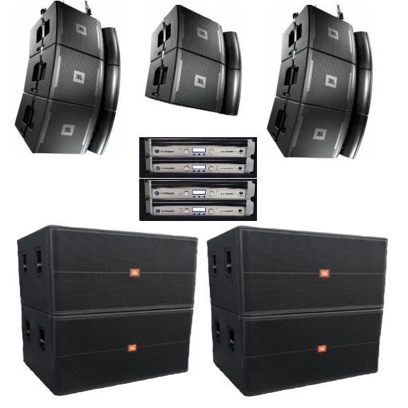 JBL VRX 932LA (12.8kW) speakerset (line array) geluid huren