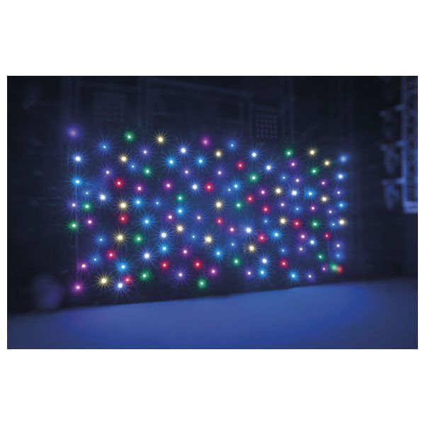 Showtec LED Sterrendoek RGB 6 x 3 meter