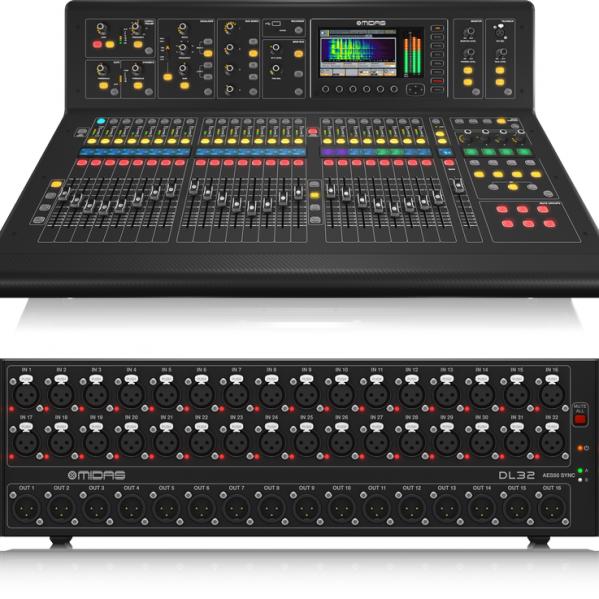 Midas M32 SET digitale live geluidstafel mixer