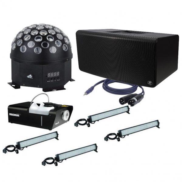Licht & geluid pakket 1