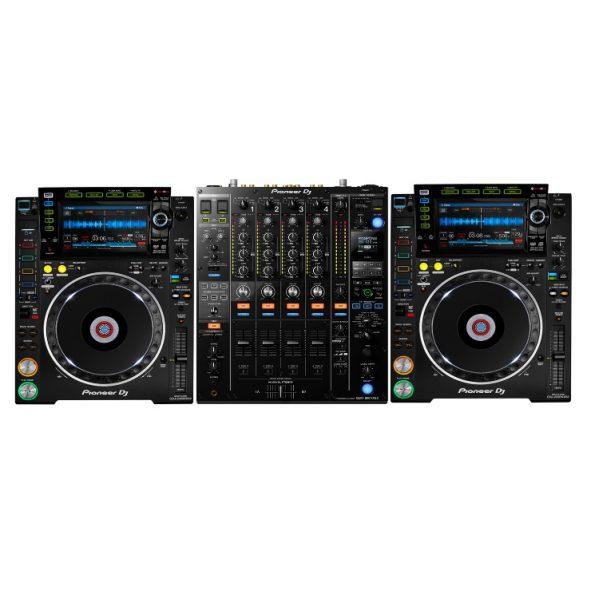 DJ SET PRO met Pioneer 2 x CDJ2000 NXSII + DJM900 NXSII