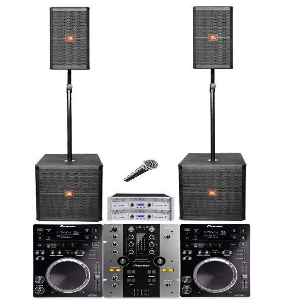 Geluid DJ SET 2