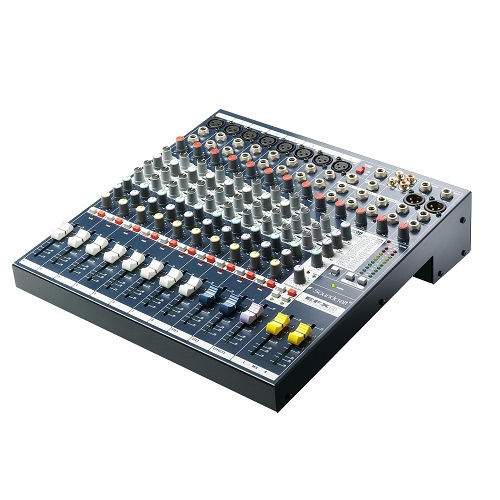 Soundcraft EFX8 compact 10ch mixer