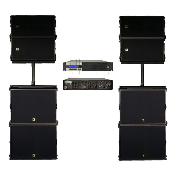 L-Acoustics wide stack set